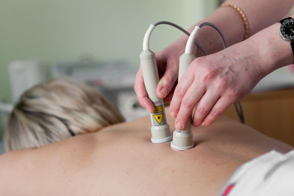 Прибор для лазерной терапии при остеохондрозе
