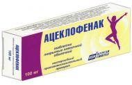 Снятие болевых симптомов с препаратом Ацеклофенак