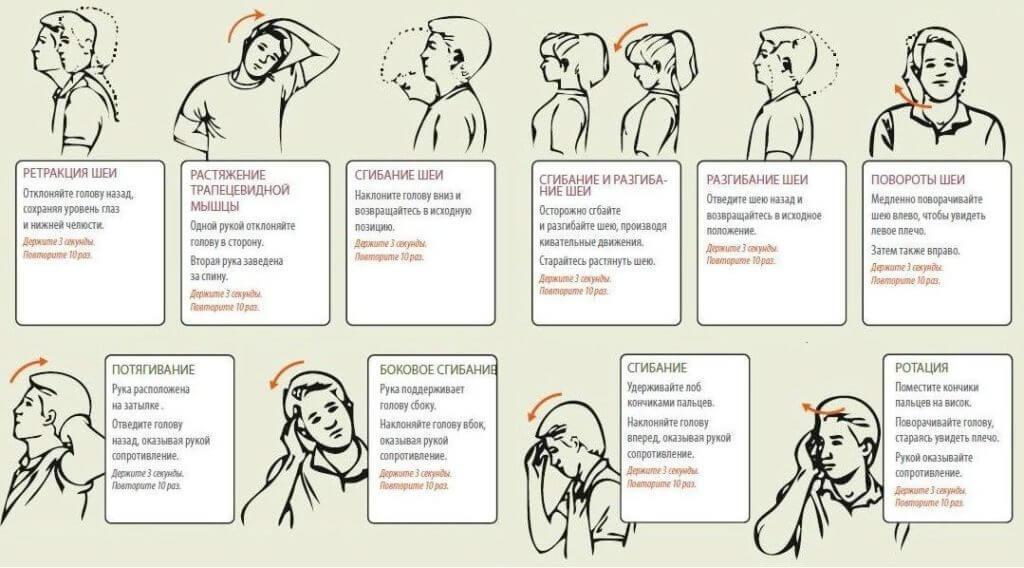 Самые эффективные упражнения для шеи