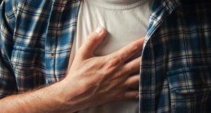 Симптомы болей в груди
