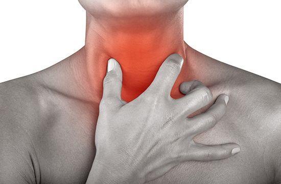 Болит горло при шейном остеохондрозе  Боли при шейном остеохондрозе