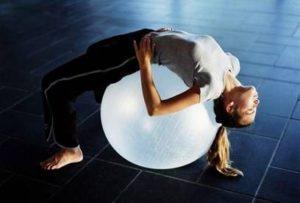 Еще один комплекс лежачих упражнений