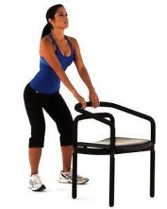 Гимнастика с использованием стула