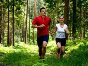 Бег лесу