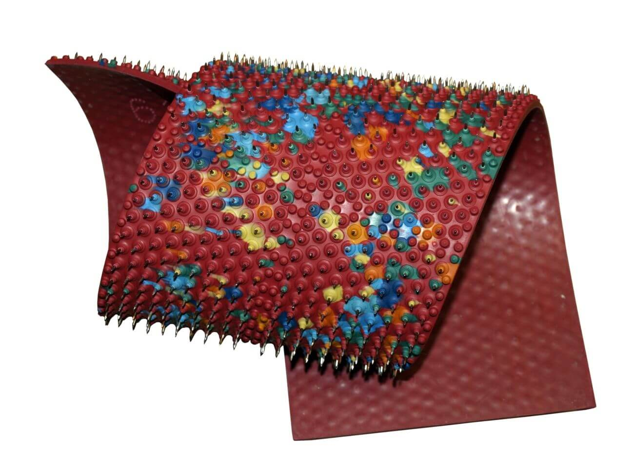Массажный коврик для лечения остеохондроза -