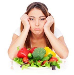 Падение аппетита