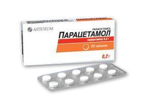 Всасывания Парацетамола
