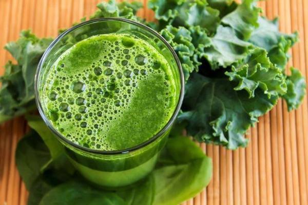 Овощной сок с зеленью